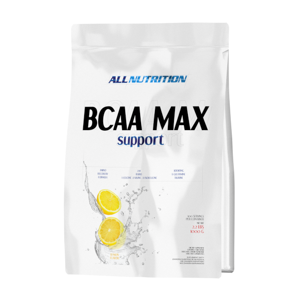 BCAA Аминокислоты All Nutrition BCAA Max Support 1000 г Оригинал! (341454)