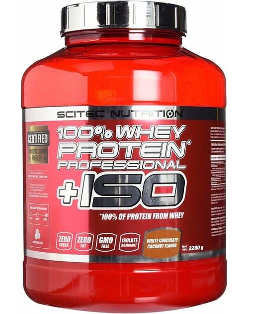 Протеин Scitec Nutrition Whey Protein Prof+ ISO 2280 г Оригинал! (342322)