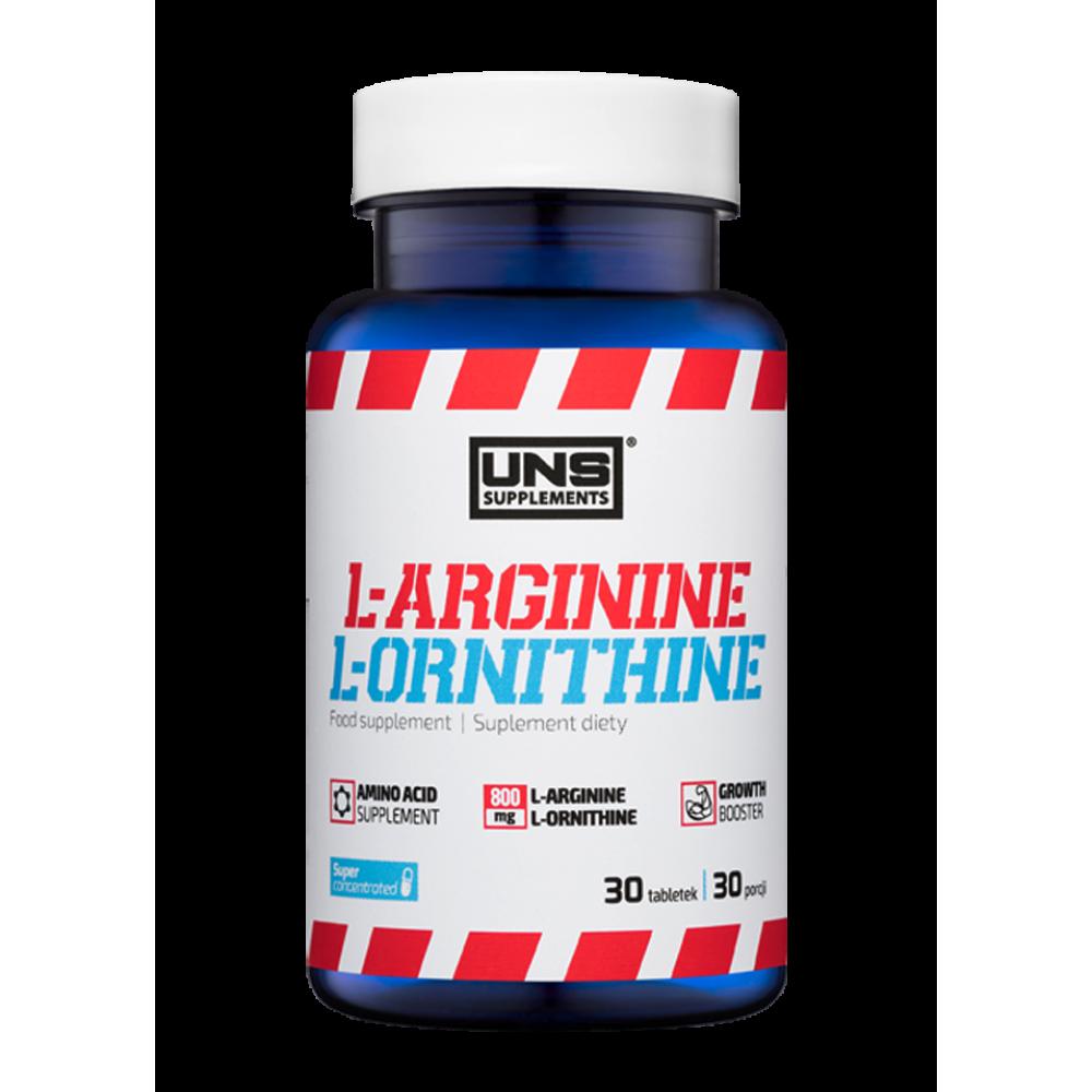 Амінокислоти UNS L-Arginine and L-Ornithine 30 таб Оригінал! (341528)