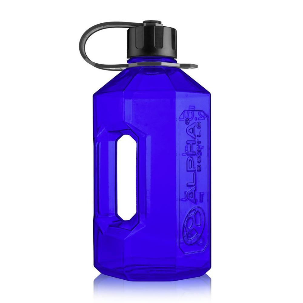 Фляга для води Alpha Designs Alpha Bottle XWater Jug 2.4 L Blue Black Оригінал! (341590)