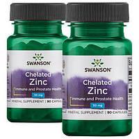 Цинк Swanson Ultra Chelated Zinc 30 мг 180 капс Оригінал! (342492)