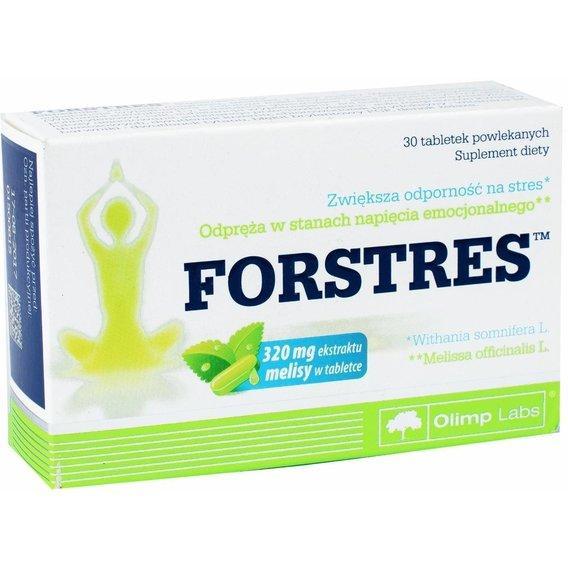 Вітаміни і мінерали Olimp Labs Forstres 320 мг ekstraktu melisy 30 таб Оригінал! (344290)