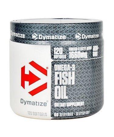 Риб'ячий жир Dymatize nutrition Omega-3 Fish Oil 120 капс Оригінал! (343440)