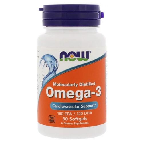 Риб'ячий жир Now Foods Omega-3 (30 кап) Оригінал! (342637)