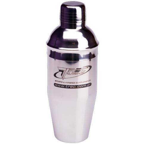 Шейкер Trec Nutrition Steel (700 мл) Сріблястий Оригінал! (342723)