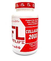 Препарати для відновлення суглобів і зв'язок FitLife Collagen 2000 120 кап Оригінал! (341895)