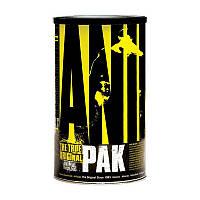 Витамины и минералы Universal Nutrition Animal Pak 30 какетов Оригинал! (343686)