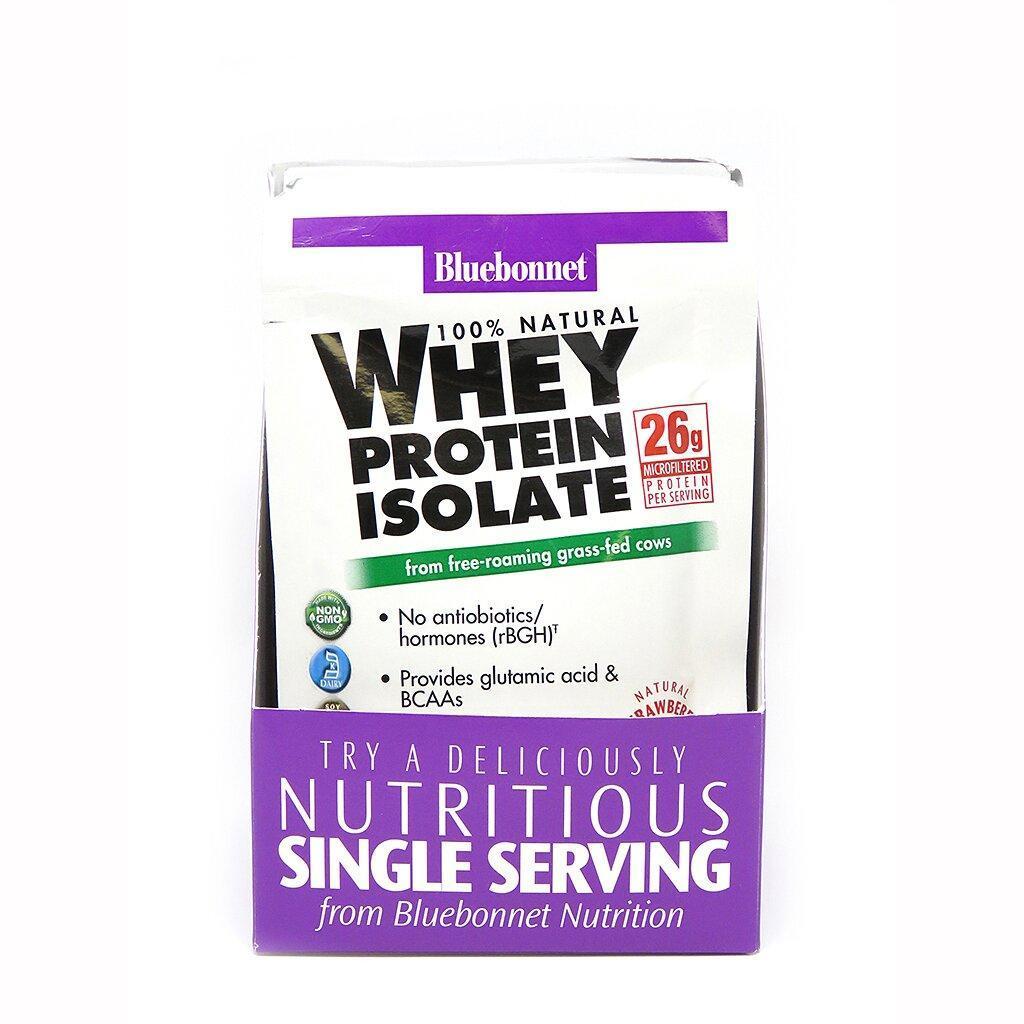 Ізолят сироваткового білка Bluebonnet Nutrition Whey Protein Isolate 8 пакетиків Оригінал! (342889)