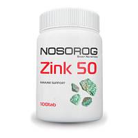 Вітаміни і мінерали Nosorig Nutrition Цинк 50 100 таб Оригінал! (342040)