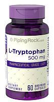 Витамины и минералы Piping Rock L-Tryptophan 500 мг 60 капс Оригинал! (342163)