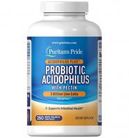 Витамины и минералы Puritans Pride Probiotic Acidophilus 250 капс Оригинал! (343922)