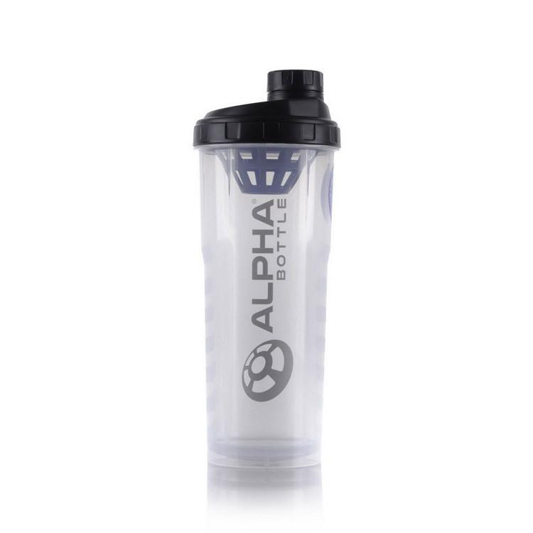Шейкер Alpha Bottle Shaker 900 мл clear Оригінал! (344055)