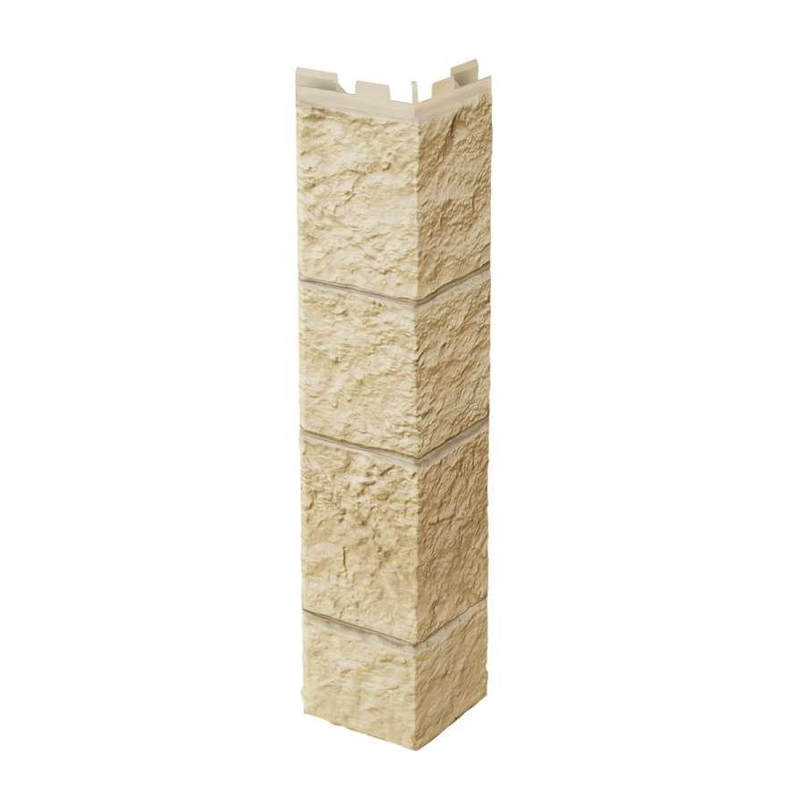 """Планка VOX """"Зовнішній кут"""" Sandstone CREME 0,42 м"""