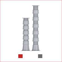Регульована опора (682-939 мм) Karoapp До-А4 + 5шт. K-CL (K-A10)