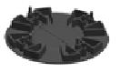 Фіксована опора Karoapp 13 мм (K-13 FIXED)