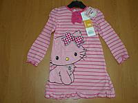 Детская ночная рубашка для девочек Китти, 3, 4года