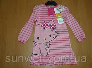 Детская ночная рубашка для девочек Китти, 3года