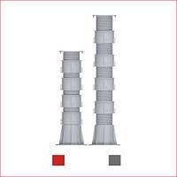 Регульована опора (576-795 мм) Karoapp До-А4 + 4шт. K-CL (K-A9)
