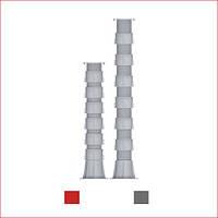 Регульована опора (786-1083 мм) Karoapp До-А4 + 6шт. K-CL (K-A11)