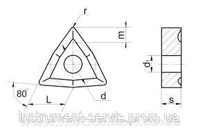 Пластина твердосплавная 02114-120612 Т15К6