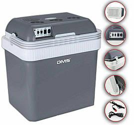 Портативний автохолодильник термоелектричний DMS KB-25 Silver на 25 літрів