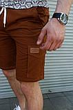 Мужские шорты с накладными карманами Сл 1860,1861, фото 4