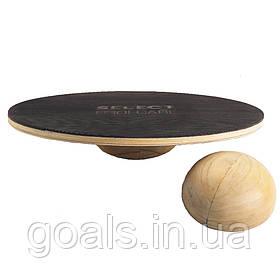 Доска балансировочная SELECT BALANCE BOARD (017) коричневый, big and small