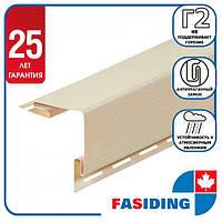 """Планка FaSiding """"зовнішній кут"""" """"Пшениця"""" Т-12. 3.05м"""