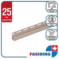 "Планка FaSiding ""J-trim"" ""Какао"" Т-15. 3.66м"
