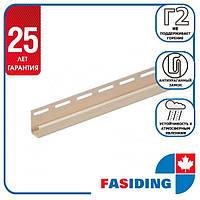 """Планка FaSiding """"J-trim"""" """"Мімоза"""" Т-15. 3.66м"""