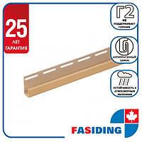 """Планка FaSiding """"J-trim"""" """"Арахіс"""" Т-15. 3.66м"""