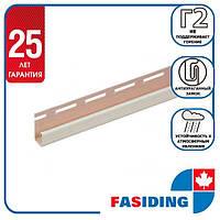 """Планка FaSiding """"J-trim"""" """"Пшениця"""" Т-15. 3.66м"""