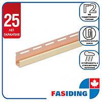 """Планка FaSiding """"J-trim"""" """"Льон"""" Т-15. 3.66м"""