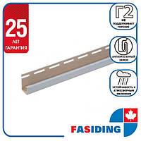 """Планка FaSiding """"J-trim"""" """"Макові зерна"""" Т-15. 3.66м"""
