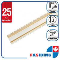 """Планка FaSiding """"внутрішній кут"""" """"Пшениця"""" Т-13. 3.05м"""