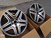 Литые диски AMG на Mercedes E-Сlass W212, фото 1