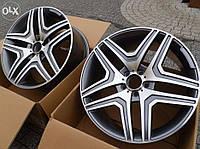 Литые диски AMG на Mercedes S-Сlass W221