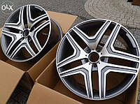 Литые диски AMG на Mercedes S-Сlass W221, фото 1