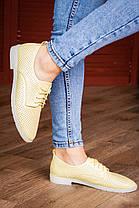 Жіночі туфлі Fashion Lippy 1772 36 розмір 23 см Жовтий, фото 3