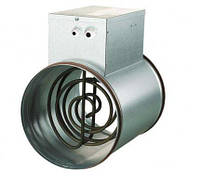 Нагреватель канальный электрический круглый- НК