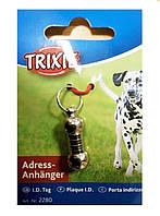 Адресник-капсула для собак (металл) Trixie