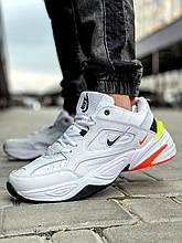 Кроссовки мужские 18205, Nike M2K Tekno, белые [ нет в наличии ] р.(44-28,5см)