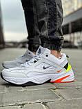 Кросівки чоловічі 18205, Nike M2K Tekno, білі, [ 44 ] р. 44-28,5 див., фото 3
