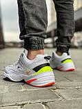 Кросівки чоловічі 18205, Nike M2K Tekno, білі, [ 44 ] р. 44-28,5 див., фото 4