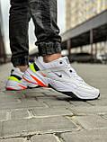 Кросівки чоловічі 18205, Nike M2K Tekno, білі, [ 44 ] р. 44-28,5 див., фото 6