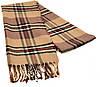 Мужской шарф 190 на 31 см 5014-11 бежевый