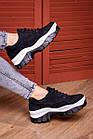 Жіночі сникеры Fashion Bosco 1985 36 розмір 23 см Чорний, фото 5