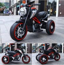 Ел-мобіль T-7236 EVA RED мотоцикл 2*6V4.5AH мотор 2*15W з MP3 102*51*59