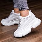 Женские стильные сникеры Fashion Penny 1673 38 размер 24 см Белый, фото 2