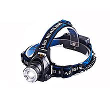 Налобный фонарик Shustar T-001 XM-L2 IPX4 black